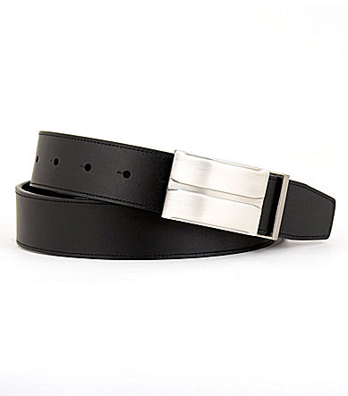 Murano Reversible Plaque-Buckle Belt