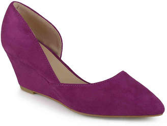 Journee Collection Lenox Wedge Pump - Women's