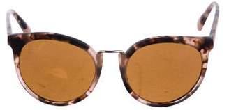 Vuarnet Tinted Round Sunglasses