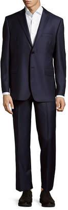 Saks Fifth Avenue Slim Fit Herringbone Wool Suit