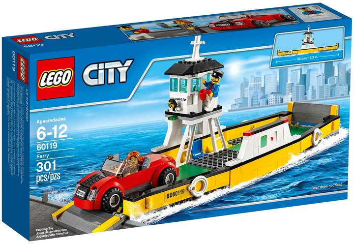 LEGO City Great Vehicles Ferry - 60119