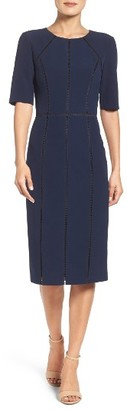 Women's Maggy London Solid Dream Crepe Dress $138 thestylecure.com