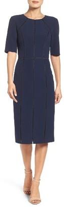 Women's Maggy London Solid Dream Crepe Dress $138 thestylecure.com