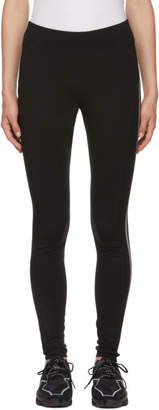 Y-3 Y 3 Black 3-Stripe Leggings