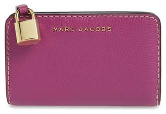 Marc Jacobs The Grind Compact Leather Wallet