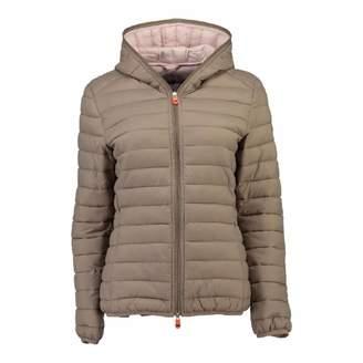 Women's Taupe Daynight Hood Jacket