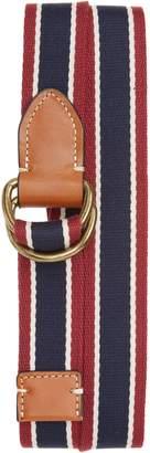 J.Crew Signature Stripe Webbing Belt