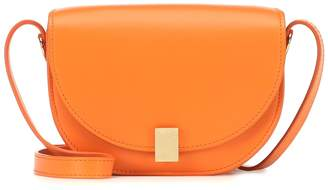 Victoria Beckham Half Moon Nano leather crossbody bag