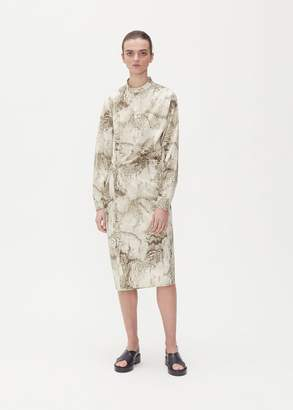 Lemaire Marbled Twisted Dress