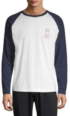 Psycho Bunny Pima Cotton Baseball T-Shirt