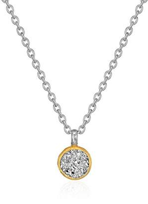 Gurhan Mystere Sterling Small Round Drusy Pendant Necklace