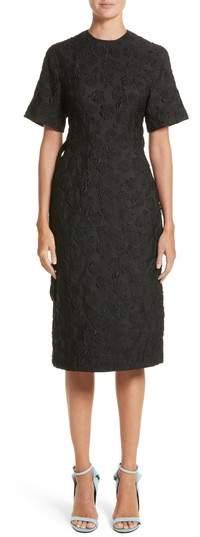 CALVIN KLEIN 205W39NYC Rose Jacquard Dress