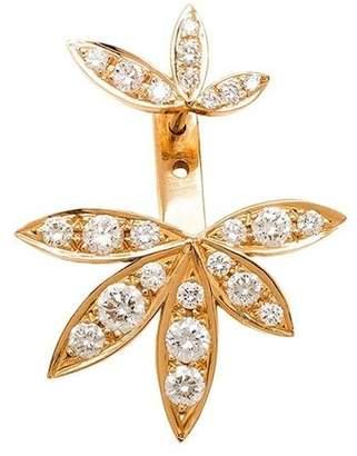 Jagga diamond lily lobe earring