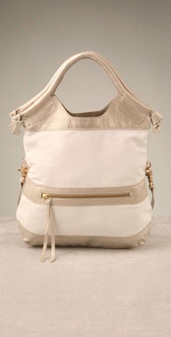 Foley + Corinna Handbags Linen Mini City Tote