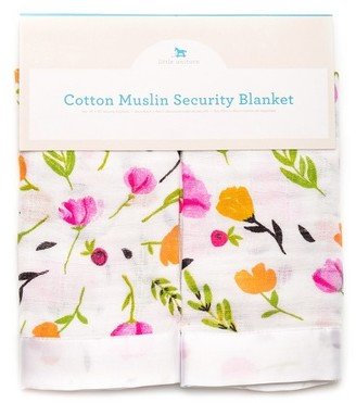 Little Unicorn Cotton Muslin Security Blanket - Berry & Bloom $17.95 thestylecure.com