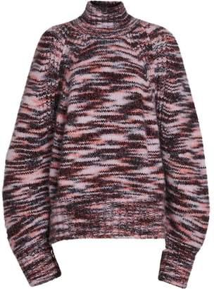 Burberry Cashmere Silk Mouliné Sweater