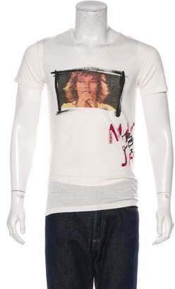 Dolce & Gabbana Mick Jagger Graphic T-Shirt