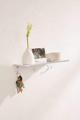 Gary Multi-Hook Wall Shelf