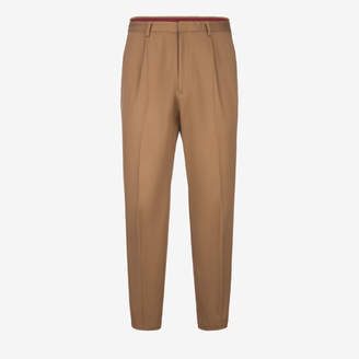 Bally Elasticated Cotton Drill Trousers