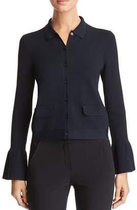 Emporio Armani Cropped Flared Cuff Jacket