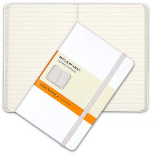 Moleskine NEW Classic Hard Cover Pocket Ruled Notebook White