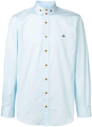 Vivienne Westwood logo embroidered shirt