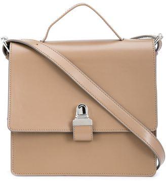 Mm6 Maison Margiela square crossbody bag $880 thestylecure.com