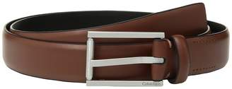 Calvin Klein 30mm Feather Edge Panel Belt Men's Belts