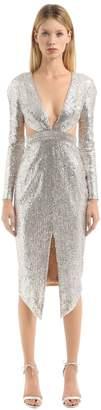 Julien Macdonald Embellished Dress With Cutouts
