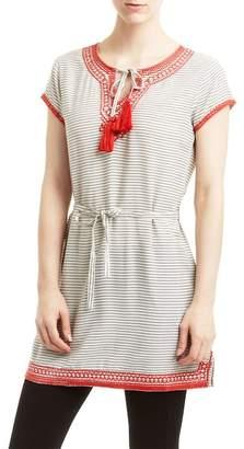 Romeo & Juliet Couture Tassel Stripe Tunic
