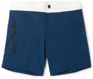 Everest Isles Draupner Mid-Length Swim Shorts $235 thestylecure.com