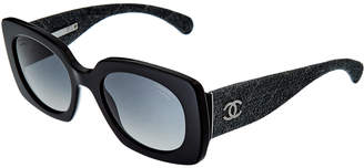 Chanel Women's Ch5406 C501/S8 53Mm Sunglasses
