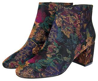 Monsoon Brianna Brocade Boots