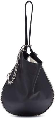 Alexander Wang 'Roxy Hobo' ball chain trim leather bag