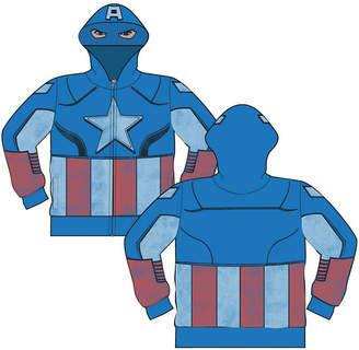 Freeze Captain America Hoodie-Big Kid Boys