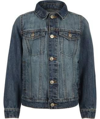 River Island Boys blue denim jacket