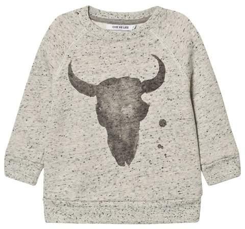 One We Like Grey Dots Kranium Sweatshirt