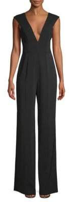 Jay Godfrey Charlotte Plunging Jumpsuit