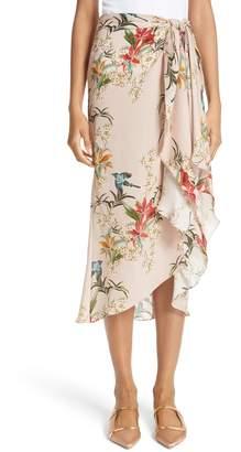 Johanna Ortiz Libertad Silk Wrap Skirt