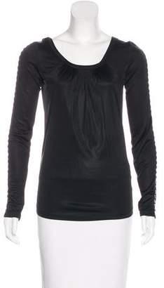 Dolce & Gabbana Embellished Long Sleeve Top