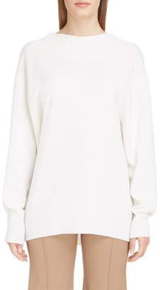 Chloé Tie Back Cashmere Sweater