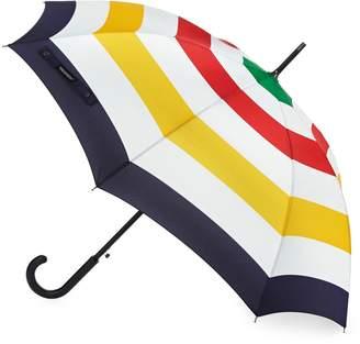HBC Stripes Multi Stripe Walking Stick Umbrella