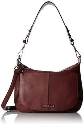 Vera Bradley Carson Shoulder Bag Grain Leather