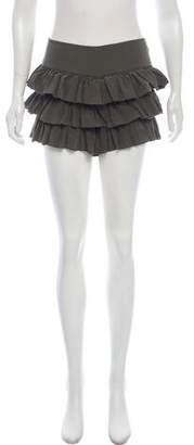 Alice + Olivia Silk Mini Shorts