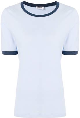 Frame contrast trim T-shirt