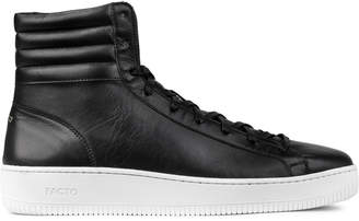 Facto Black Saturn Portofino High Top Sneakers