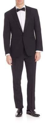 Ralph Lauren Purple Label Barathea One-Button Peak Tuxedo
