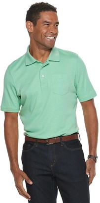 Croft & Barrow Men's Easy-Care Extra-Soft Pocket Polo
