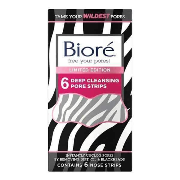 Biore Bioré Limited Edition Zebra Deep Cleansing Pore Strips x6