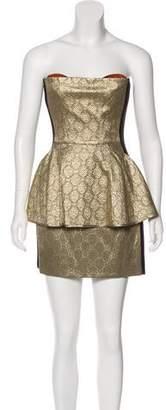 Stella McCartney Strapless Mini Dress